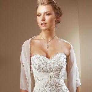 Mori Lee Ivory Wedding Dress 2105